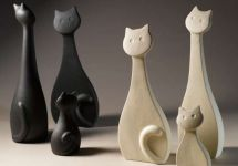 Lineasette Gatto display-ART
